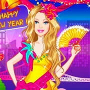 Barbies New Years Eve Dress Up